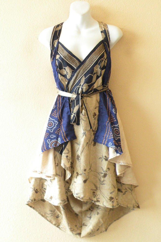 """P139 Reversible Vintage Silk Magic 24"""" Wrap Skirt Halter Tube Dress + Bonus DVD"""