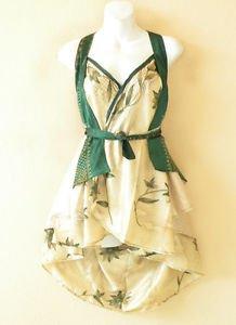"B104 Reversible Vintage Silk Magic 20"" Mini Wrap Skirt Halter Tube Top + DVD"