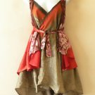 "P145 Reversible Vintage Silk Magic 24"" Wrap Skirt Halter Tube Dress +Bonus DVD"
