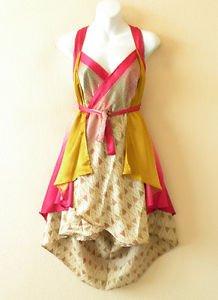 """P22 Reversible Vintage Silk Magic 24"""" Wrap Skirt Halter Tube Dress +Bonus DVD"""