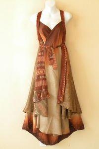 "L977 Vintage Silk Magic 34"" Long Wrap Skirt Halter Tube Maxi Dress + Bonus DVD"