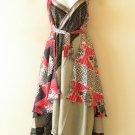 "E494 Vintage Silk Magic 36"" Sarong Pareo Wrap Skirt Tube Dress + Bonus DVD"
