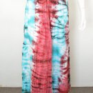 Crinkle Gypsy Tunic Bohemian Broomstick Tie Dye Long Maxi Skirt - S, M & L