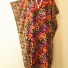 Plus Size Asiatic Dream Caftan Kaftan Tunic Hippy Maxi Dress - XL, 1X, 2X & 3X