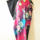 KD75 Pink Plus Size Caftan Dolman Tunic Hippy Maxi Maxi Dress - XL, XL, 1X & 2X
