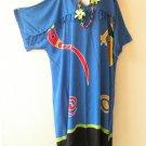 KD121 Gecko Kimono Plus Size Caftan Kaftan Tunic Hippy Dress - 2X, 3X, 4X & 5X