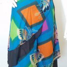 Boho Pleasant Print 2 Layer Wrap Around Skirt