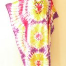 Tie Dye Batik Beach Kaftan Caftan Batwing Maternity Dolman Maxi Dress 2X to 5X