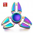 10pcs of USA Stock Bulk Metal Rainbow Titanium Alloy Hand Fidget Spinner