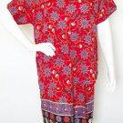 Floral Boho Gothic Women Gypsy Bohemian Blouse & Short Pants Suit Set - S & M