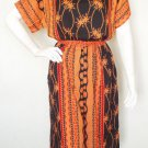 Ethnic Women Boho Gothic Gypsy Bohemian Blouse & Short Pants Suit Set - L & XL