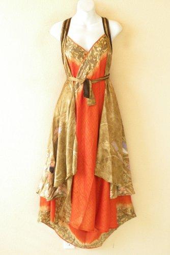 "E530 Vintage Silk Magic 36"" Sarong Pareo Wrap Skirt Tube Dress + Bonus DVD"