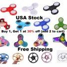 USA Stock LED, Batman, Wheel, Rainbow,  Glow in the Dark Fidget Spinner Finger