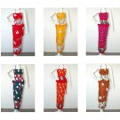Batik Women Sexy Top Bohemian Boho Wrap Pareo Sarong Skirt / Dress Set - XS & S