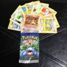 Pokemon Card Random Base Set Lots in Pack Wrappers! 1st edition Charizard 4/102!
