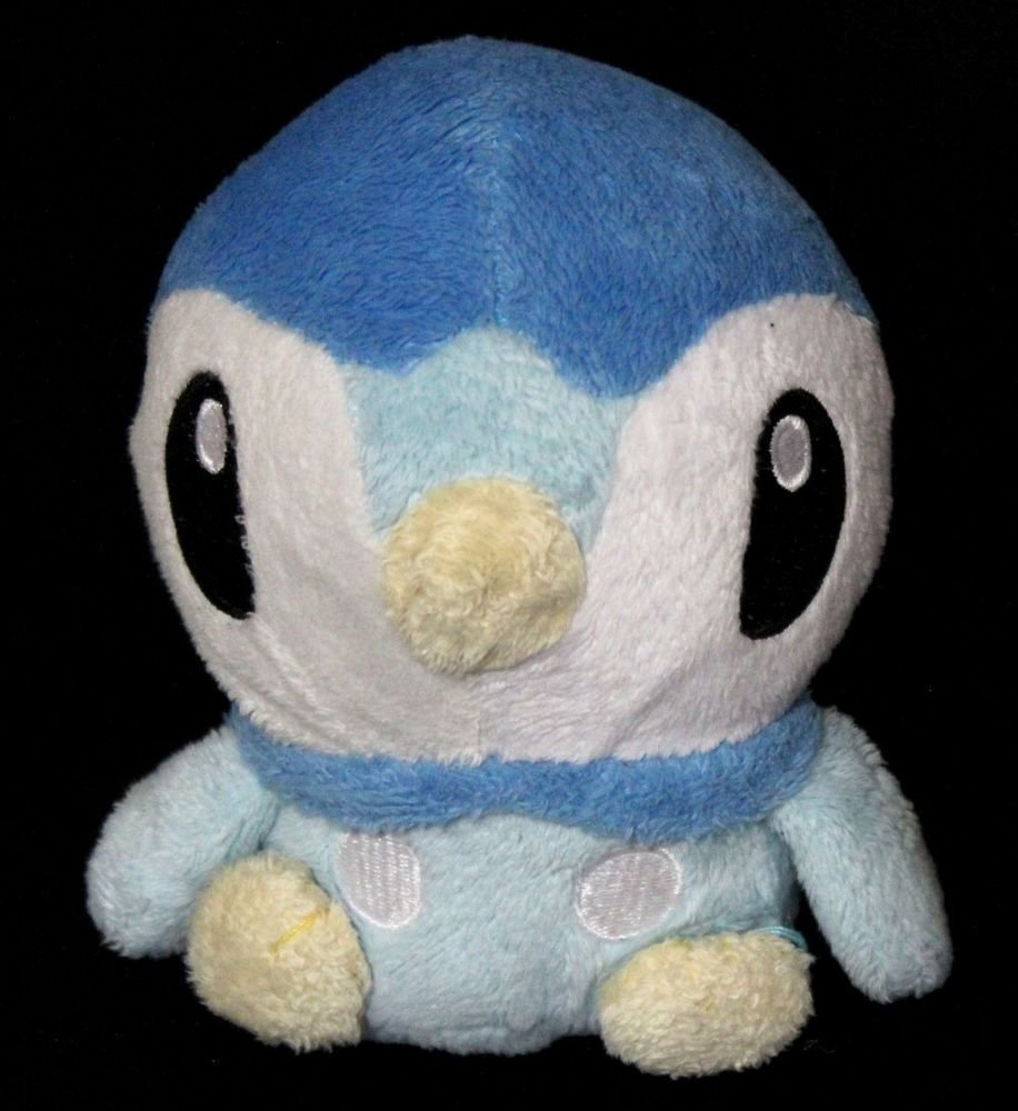 Pokemon Center Piplup Pokemon Plush Toy Poke Doll + Free Card!