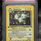 Pokemon Card First Edition Magneton 11/62 Fossil Set PSA Graded 10 Gem Mint!