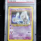 PSA 9 Graded First Edition Shining Mewtwo 109/105 Neo Destiny Pokemon Card TCG