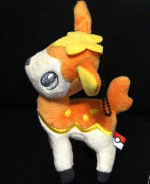 Best Wishes Banpresto Fall Form Deerling Pokemon Plush Toy NEW! + Free Card!