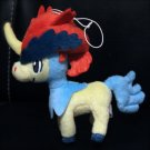 Best Wishes Banpresto Keldeo Pokemon Plush Toy Doll NEW! + Free Card!