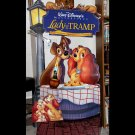 Rare Vintage Walt Disney Lady and The Tramp Movie Promo Standee