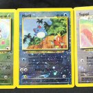 Ledyba 4/18, Marill 11/18, Togepi 15/18 NM Island PromoTCG Pokemon Cards +BONUS