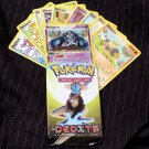 Pokemon Card TCG Random English Deoxys EX lot in original pack wrapper! EX/NM-MT