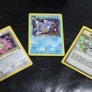 Pokemon Team Rocket's Meowth, Dark Gyarados & Computer Error Promo Cards NM/M!+