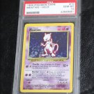 Pokemon Card Mewtwo 10/102 Base Set Holofoil PSA Graded 10 Gem Mint!