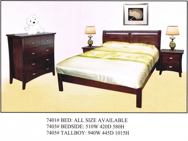 SOHO 4 Pcs Bedroom Suite
