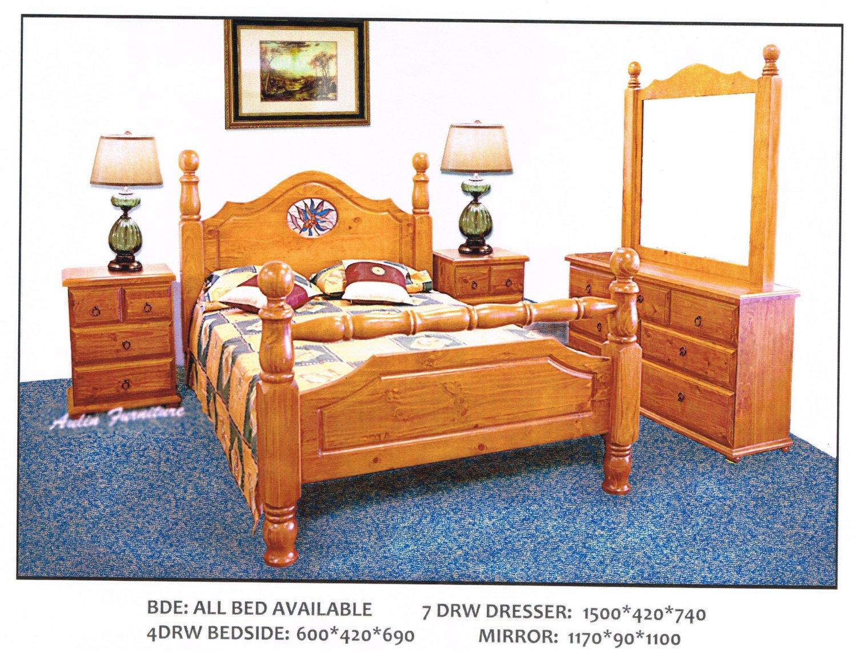 LAWSON 4 Pcs Bedroom Suite