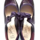 MARKS & SPENCER PATENT FAUX LEATHER SHOES SIZE UK 3.5 (36 EUR)