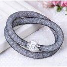 Stardust Bracelet Double Silver