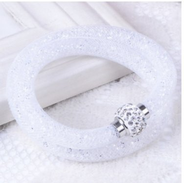 Stardust Bracelet Double white