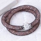 Stardust Bracelet Double Brown