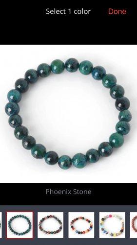 Natural stone bracelet Phoenix Stone