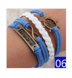 Hunger Games leather bracelet #6