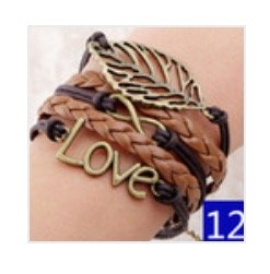 Hunger Games leather bracelet #12
