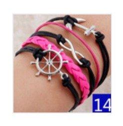 Hunger Games leather bracelet #14