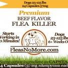 Flea Killer Kills Fleas Fast Dogs Generic CAPSTAR Nitenyram 24 Capsules 57 mg FREE US SHIPPING