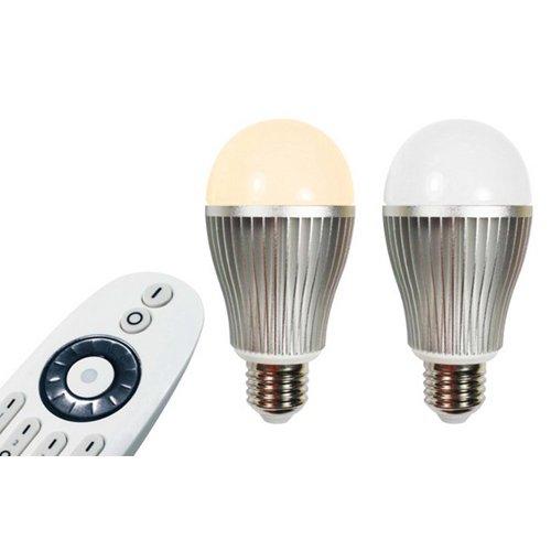 3xLed Remote Control Light Bulb, 6W, E27, Dimmble, CCT Changing 3000~6500K