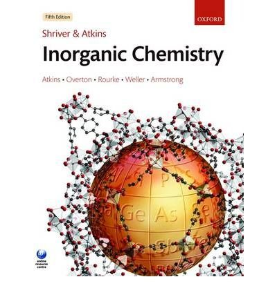 Shriver Atkins Inorganic Chemistry