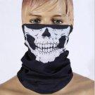 Halloween Skull Skeleton Motorcycle Bicycle Bicycle Ski Multi functional Headwear Hat Scarf Half Fac
