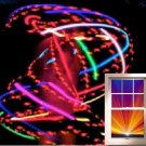 "LED hula hoop 36"" Strobing RGB x21 LED Color Changing w Battery and Charger"