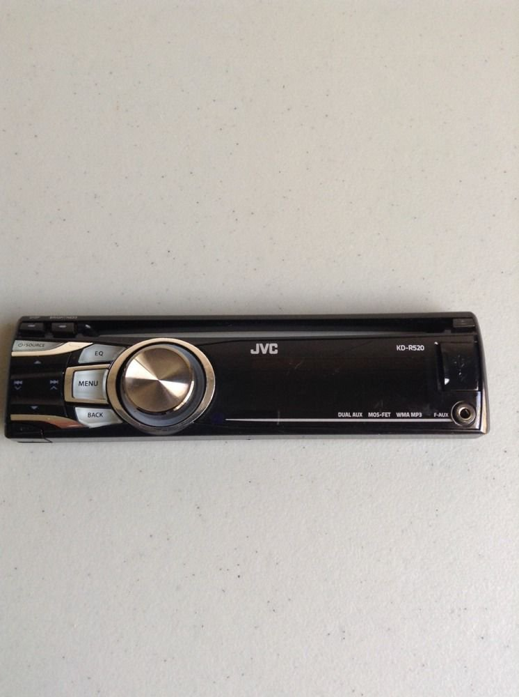JVC KD-R520 CD Replacement Faceplate