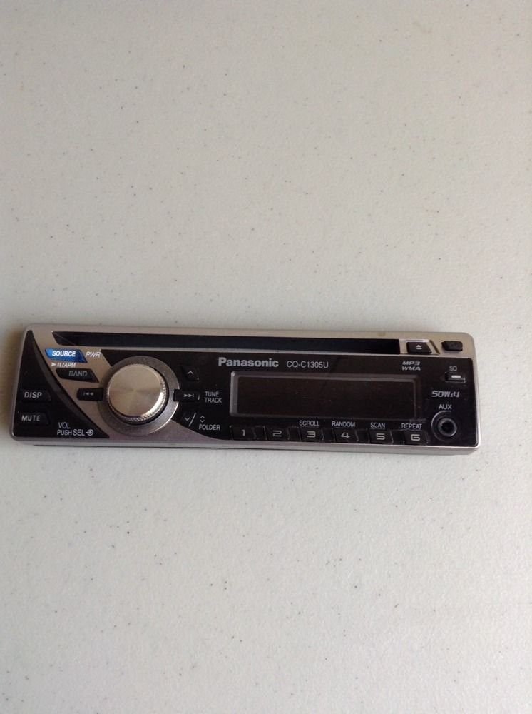 PANASONIC CQ-1305U CD Replacement Faceplate