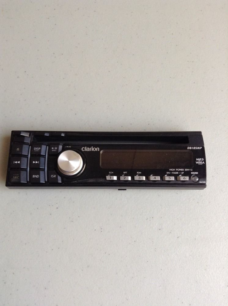 CLARION DB185MP CD Replacement Faceplate