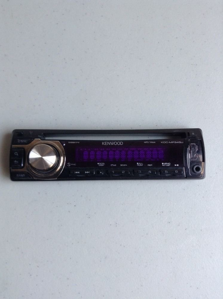 KENWOOD KDC-MP345U CD Replacement Faceplate