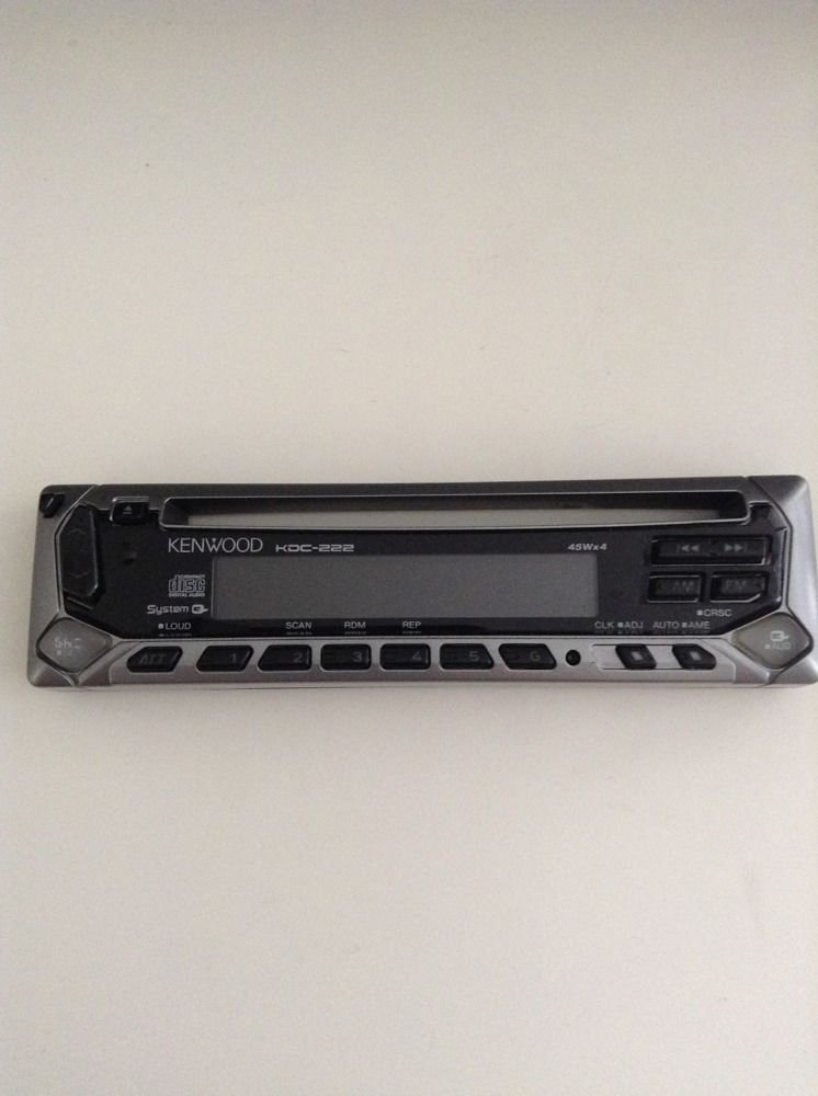 KENWOOD KDC-222 Replacement Faceplate