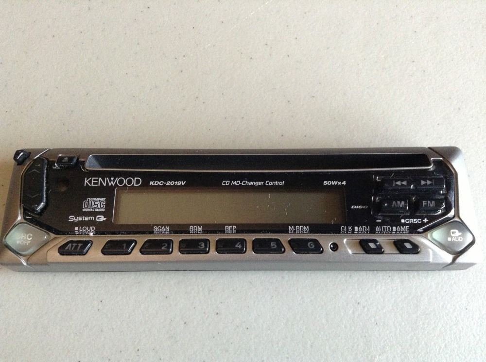 KENWOOD KDC-2019V Replacement Faceplate CD face plate part Working Condition